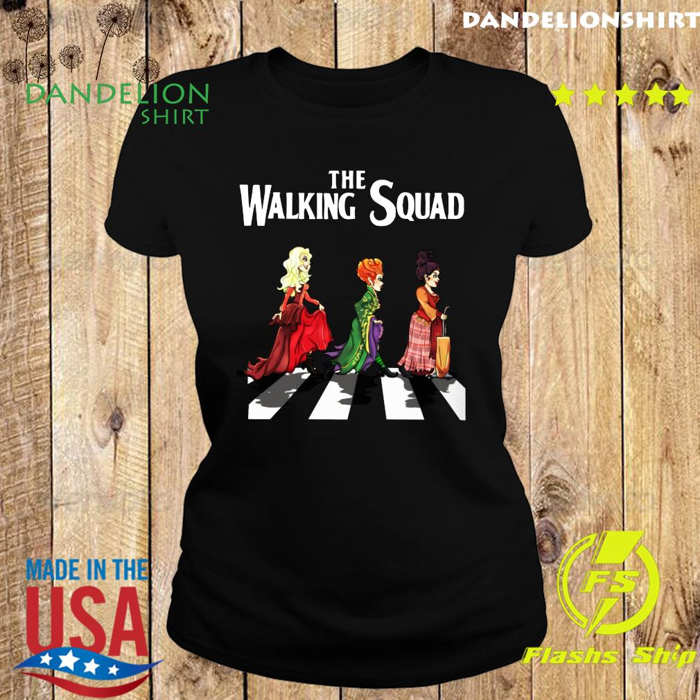 Official The Walking Squad The Abbey Road Shirt Ladies tee