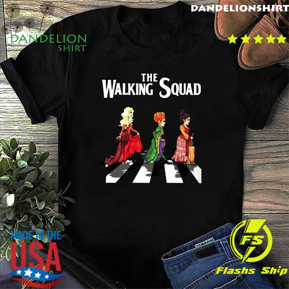 Official The Walking Squad The Abbey Road Shirt