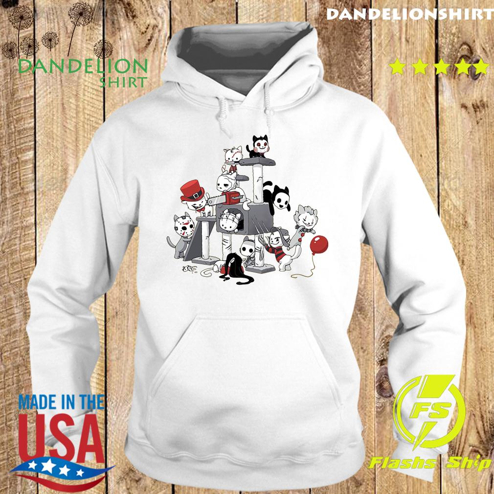 Park Cats Scariest Horror Movie Characters Halloween s Hoodie