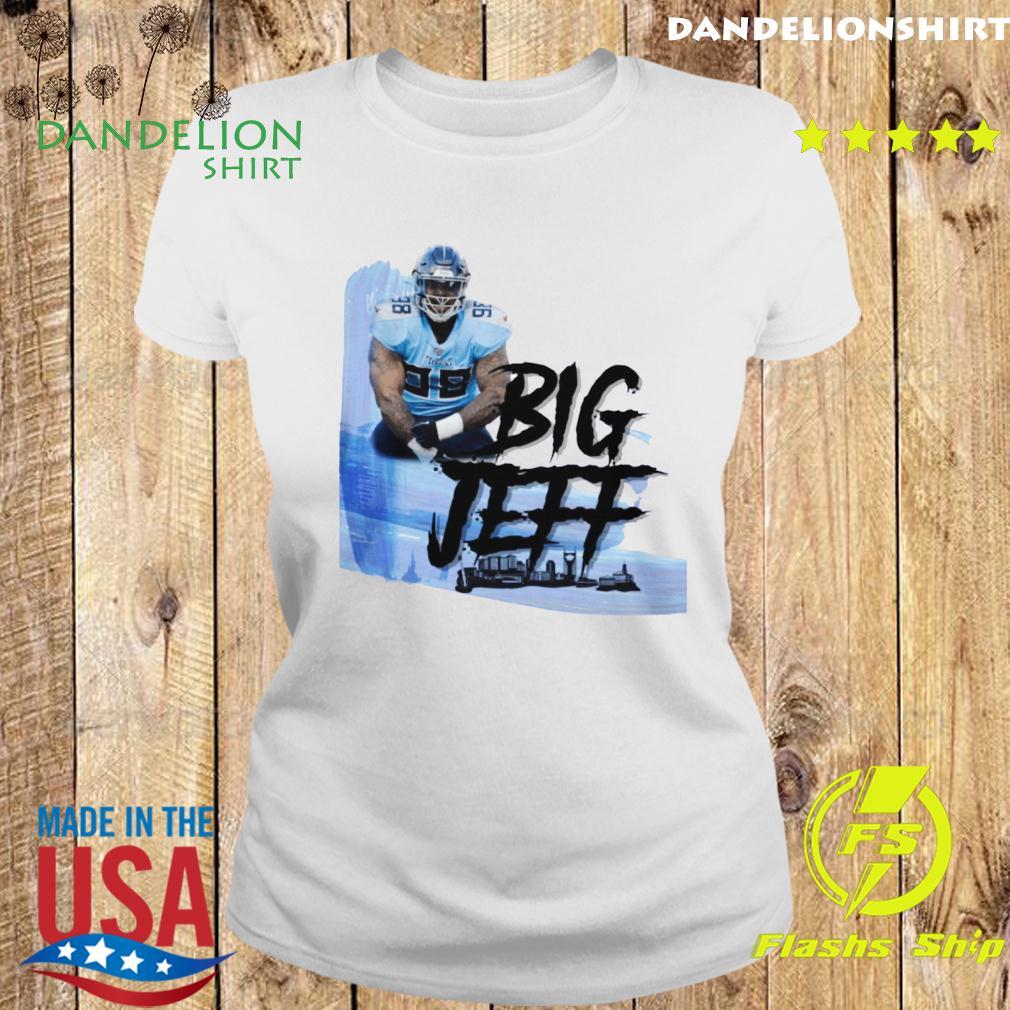 Big Jeff Tee Jeffery Simmons Tennessee Titans Shirt Ladies tee