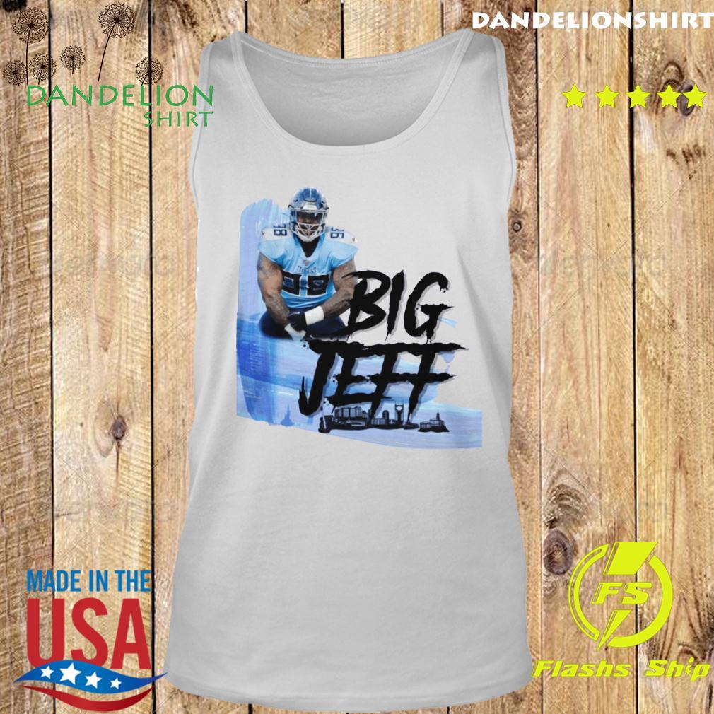 Big Jeff Tee Jeffery Simmons Tennessee Titans Shirt Tank top