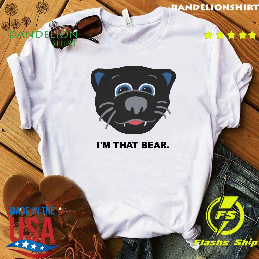 Official Carolina Panthers I'm That Bear Shirt