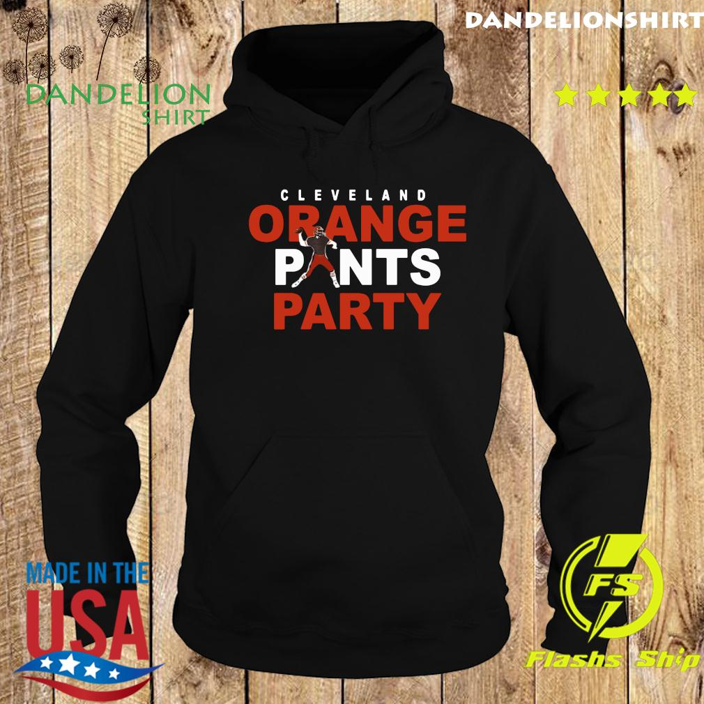 Official Orange Pants Party Cleveland Football 2020 Shirt Hoodie