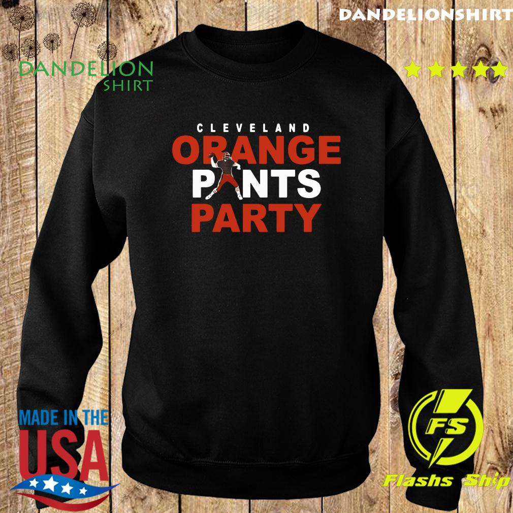 Official Orange Pants Party Cleveland Football 2020 Shirt Sweater