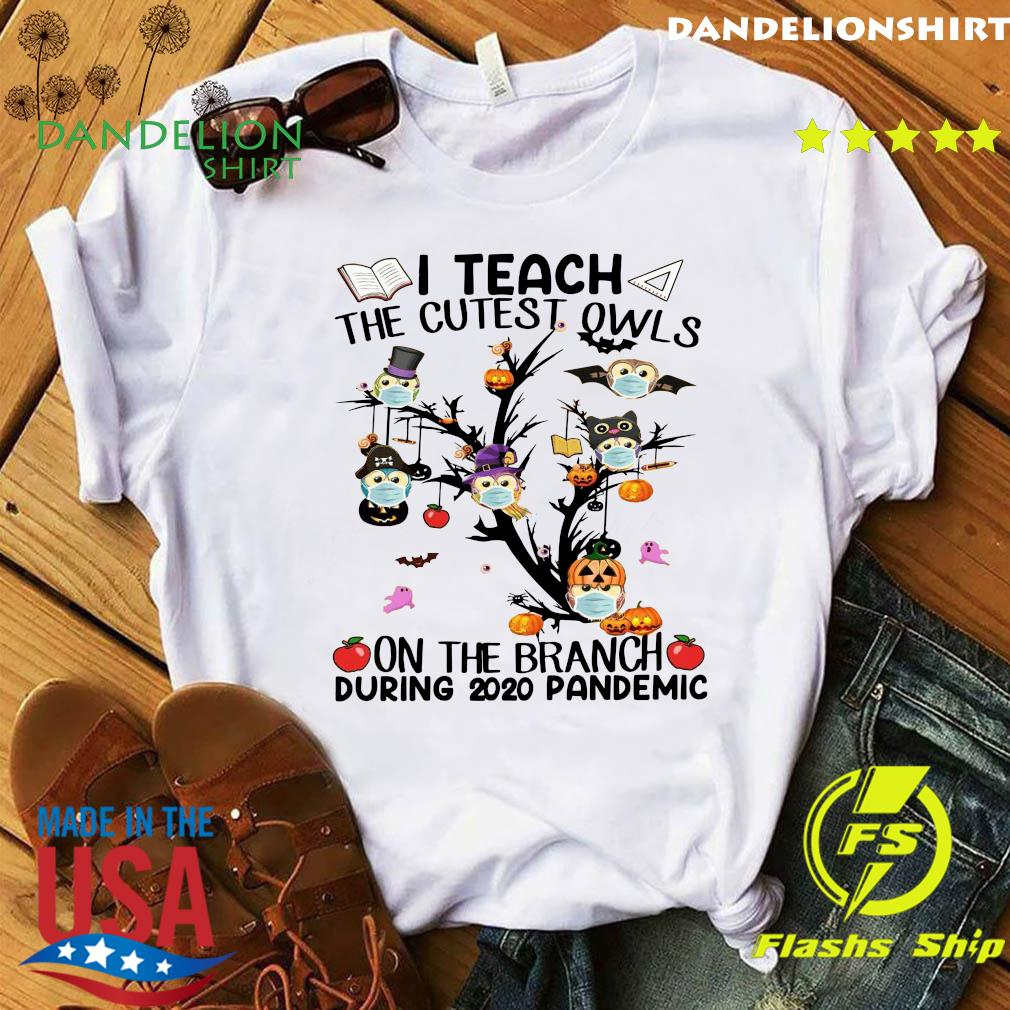 Teacher Teach The Cutest Owls Halloween 2020 School Tree Classic Shirt