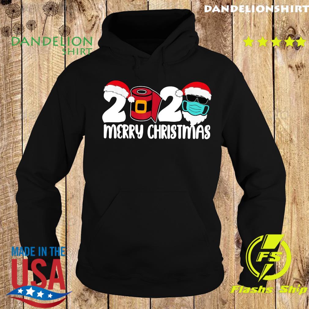 2020 Satan Claus Merry Christmas Sweats Hoodie