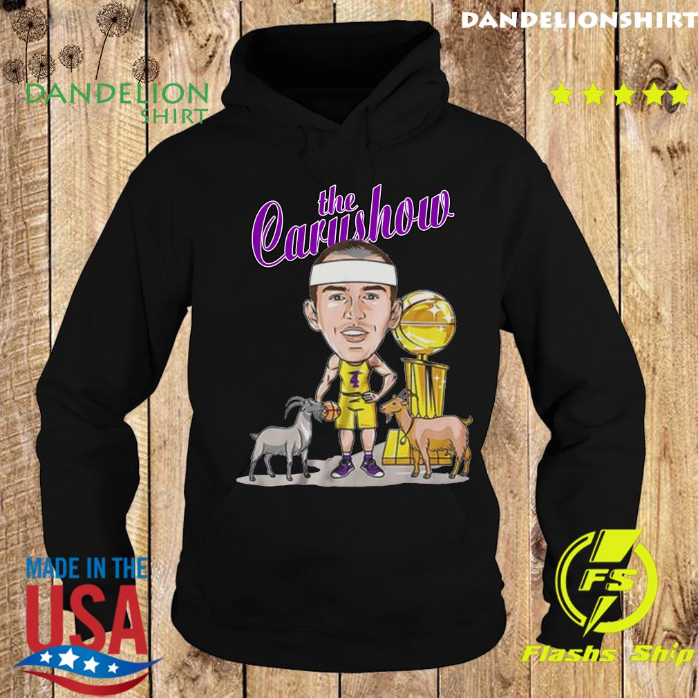 Alex Caruso The Carushow GOAT Tee Shirt Hoodie