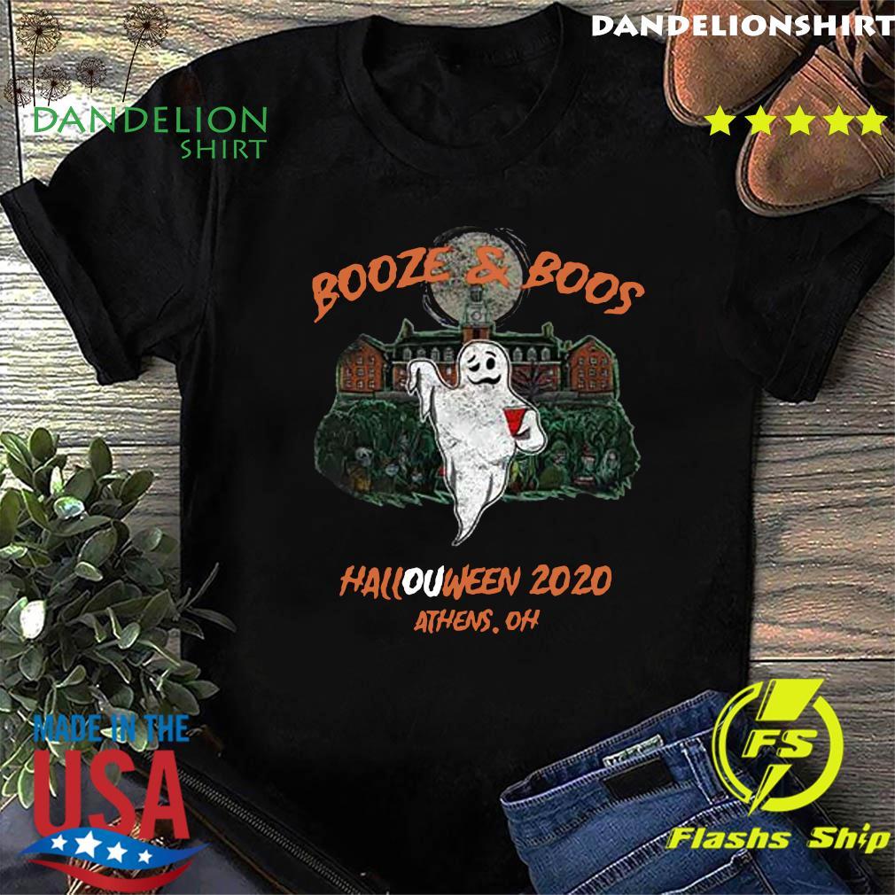 Booze Boos Halloween 2020 Athens Oh Shirt