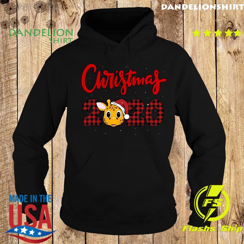 Christmas giraffe 2020 Sweats Hoodie