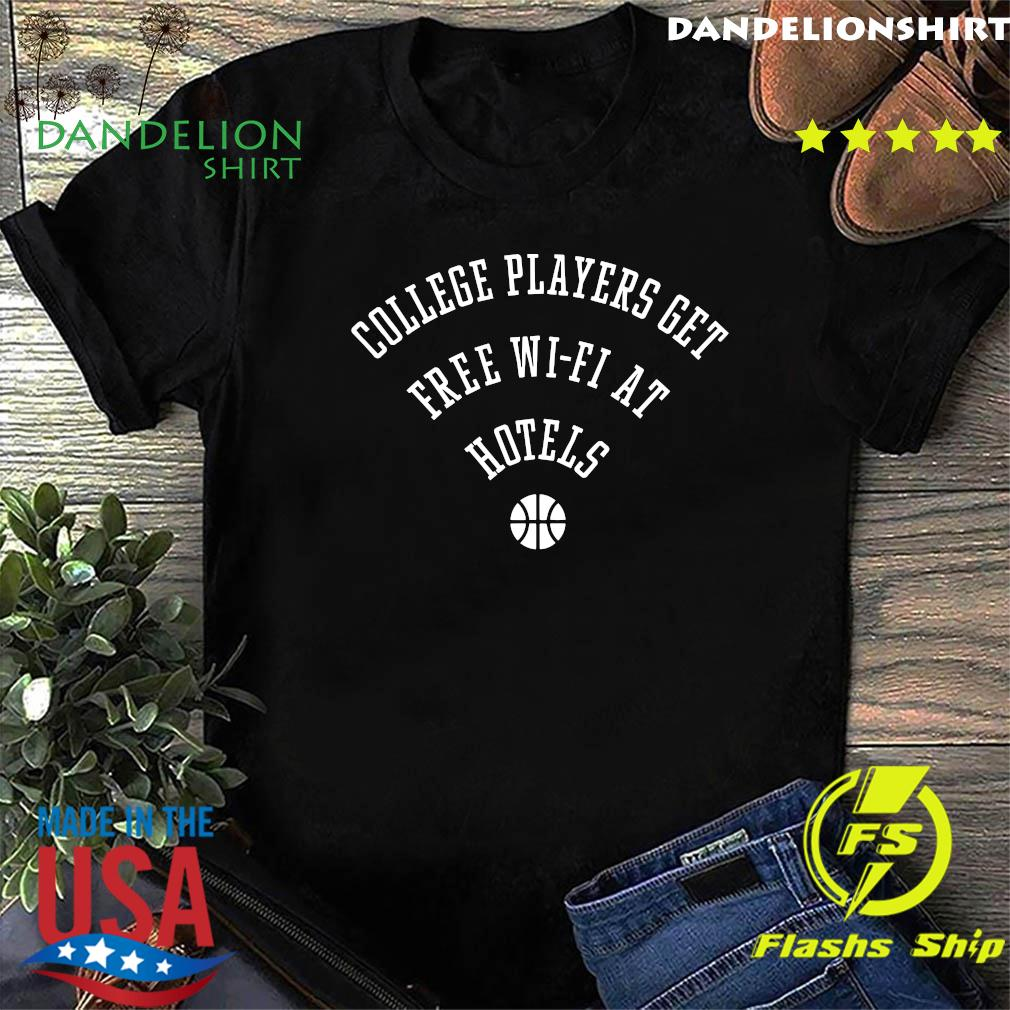 College Players Get Free Wi-Fi At Hotels T-Shirt