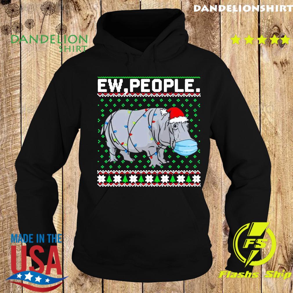 Hippopotamus Ew People Christmas Classic T-Shirt Hoodie