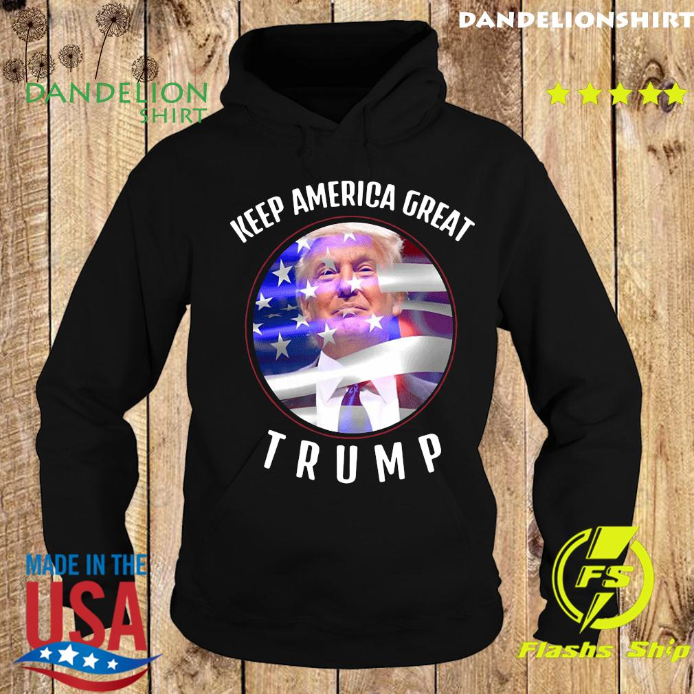 Keep America Great Trump 2020 Election Day American Flag Shirt Hoodie