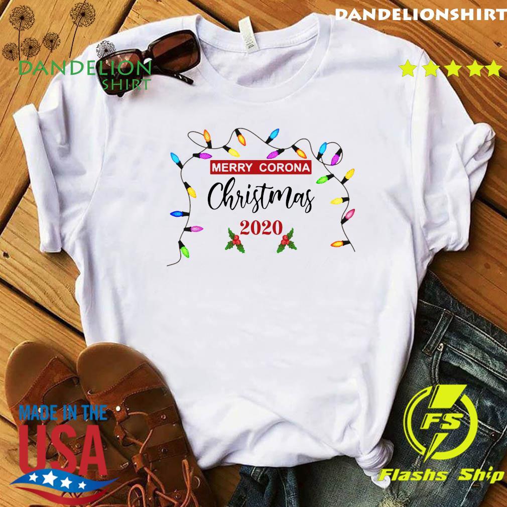 Light Merry Corona Christmas 2020 Sweatshirt