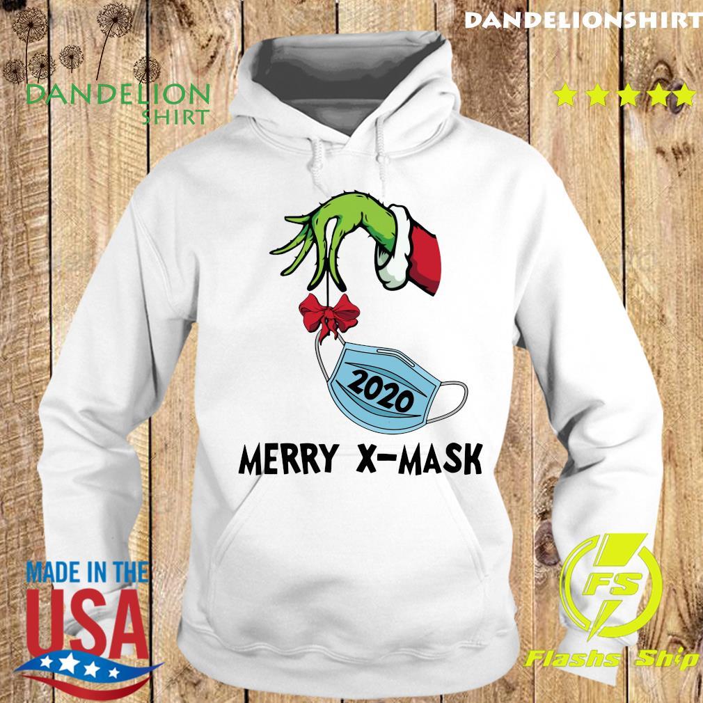 Merry X-Mask V-Neck Sweats Hoodie