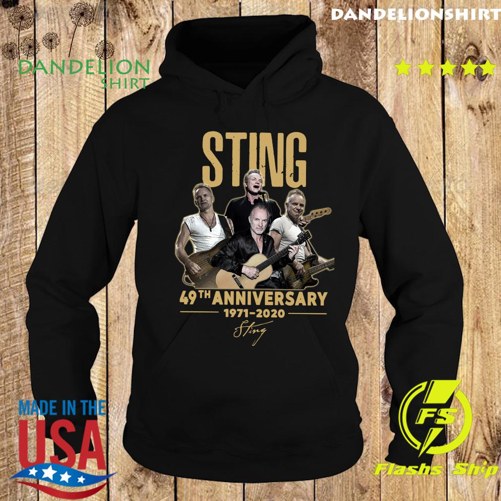 Official Sting 49th Anniversary 1998 2020 Signature Shirt Hoodie