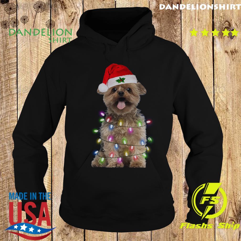 Santa Norfolk Terrier Merry Christmas Sweats Hoodie