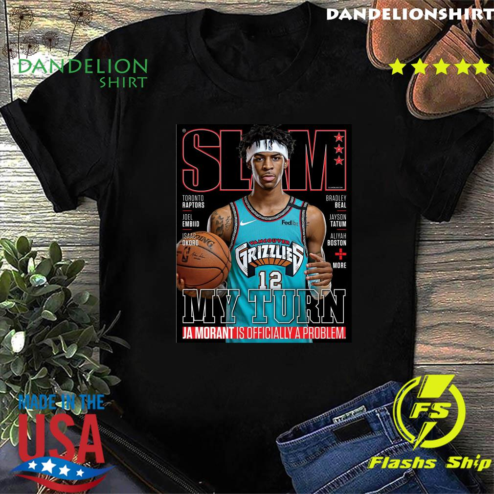SLAM Cover Tee Shirt – Ja Morant