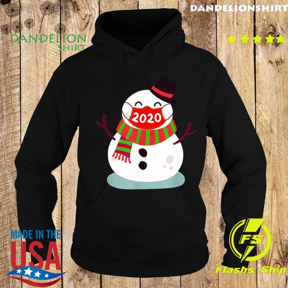 Snowman Face Mask 2020 Christmas Sweats Hoodie