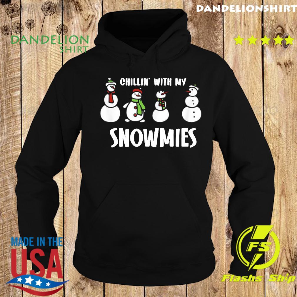 Snowmies Family Christmas Matching Pajamas Snow Man T-Shirt Hoodie