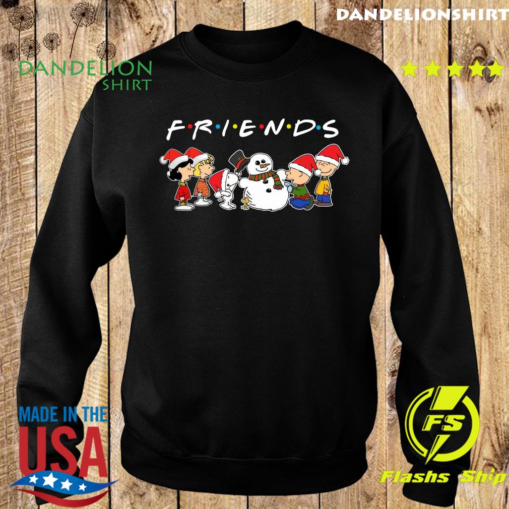 The Peanuts And Snowman Friends Merry Christmas Sweatshirt
