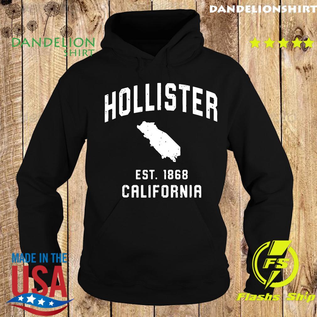 Vintage Hollister California EST 1868 T-Shirt Hoodie