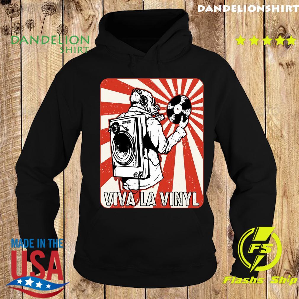 Viva la Vinyl Retro Shirt Hoodie