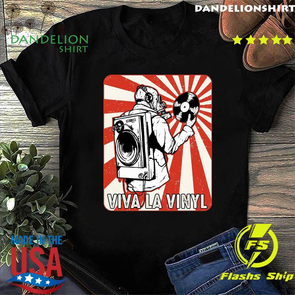 Viva la Vinyl Retro Shirt