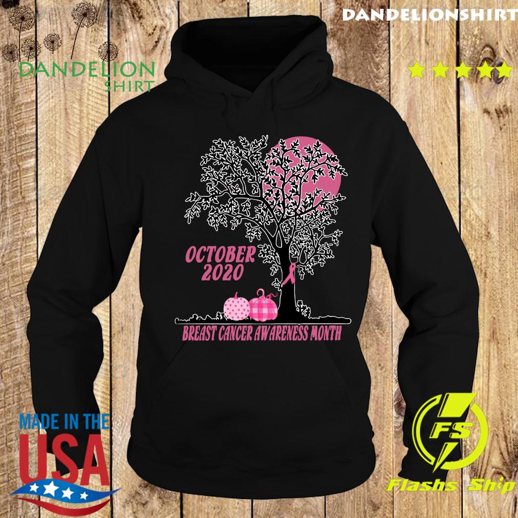 Women's October 2020 Breast cancer awareness month Shirt Hoodie