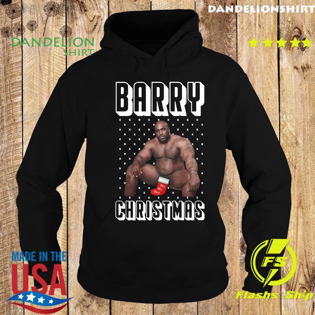 Barry Wood Merchandise Ugly Christmas Sweats Hoodie