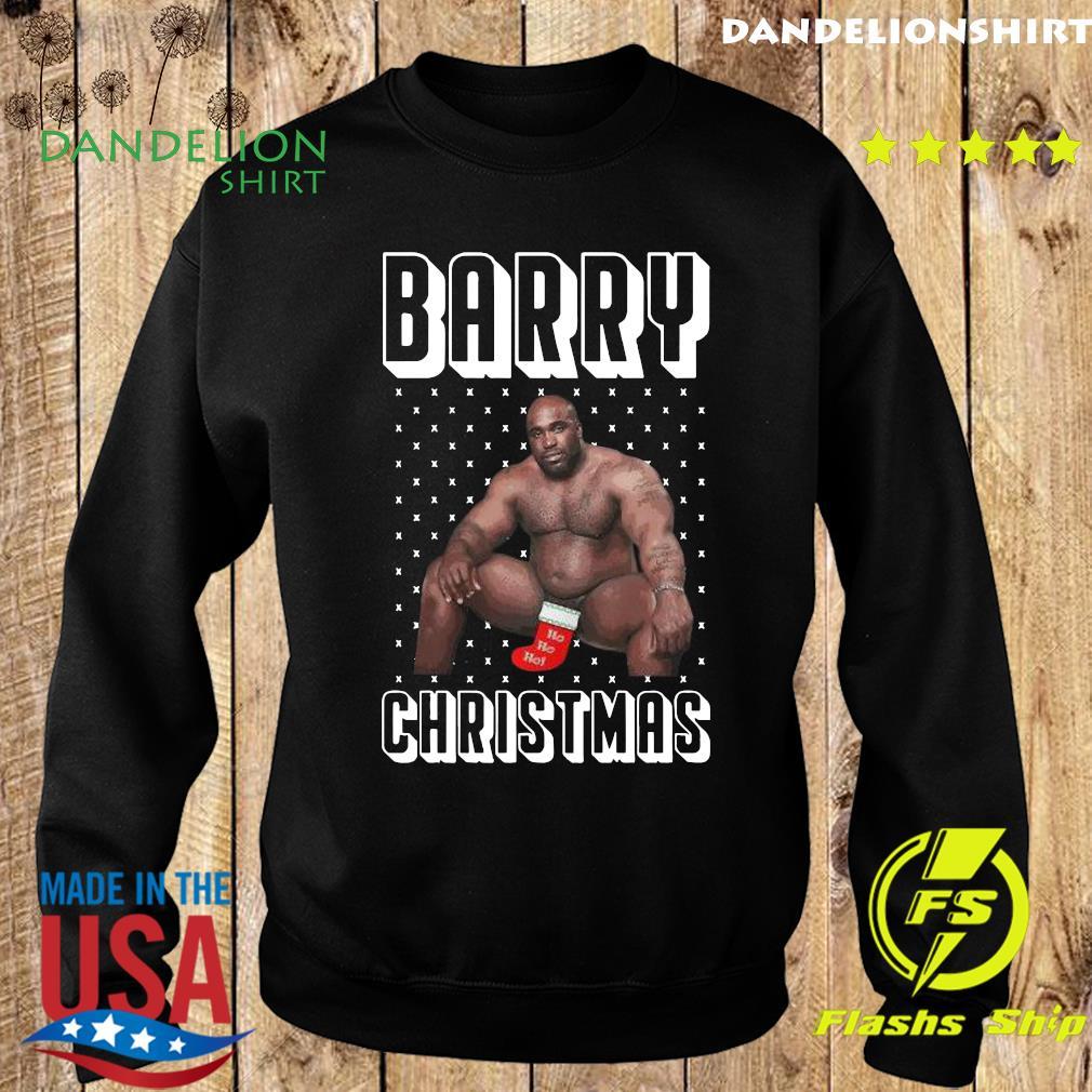Barry Wood Merchandise Ugly Christmas Sweatshirt