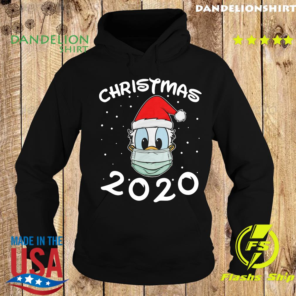 Face Donald Santa Wear Mask Merry Christmas 2020 Christmas Sweats Hoodie