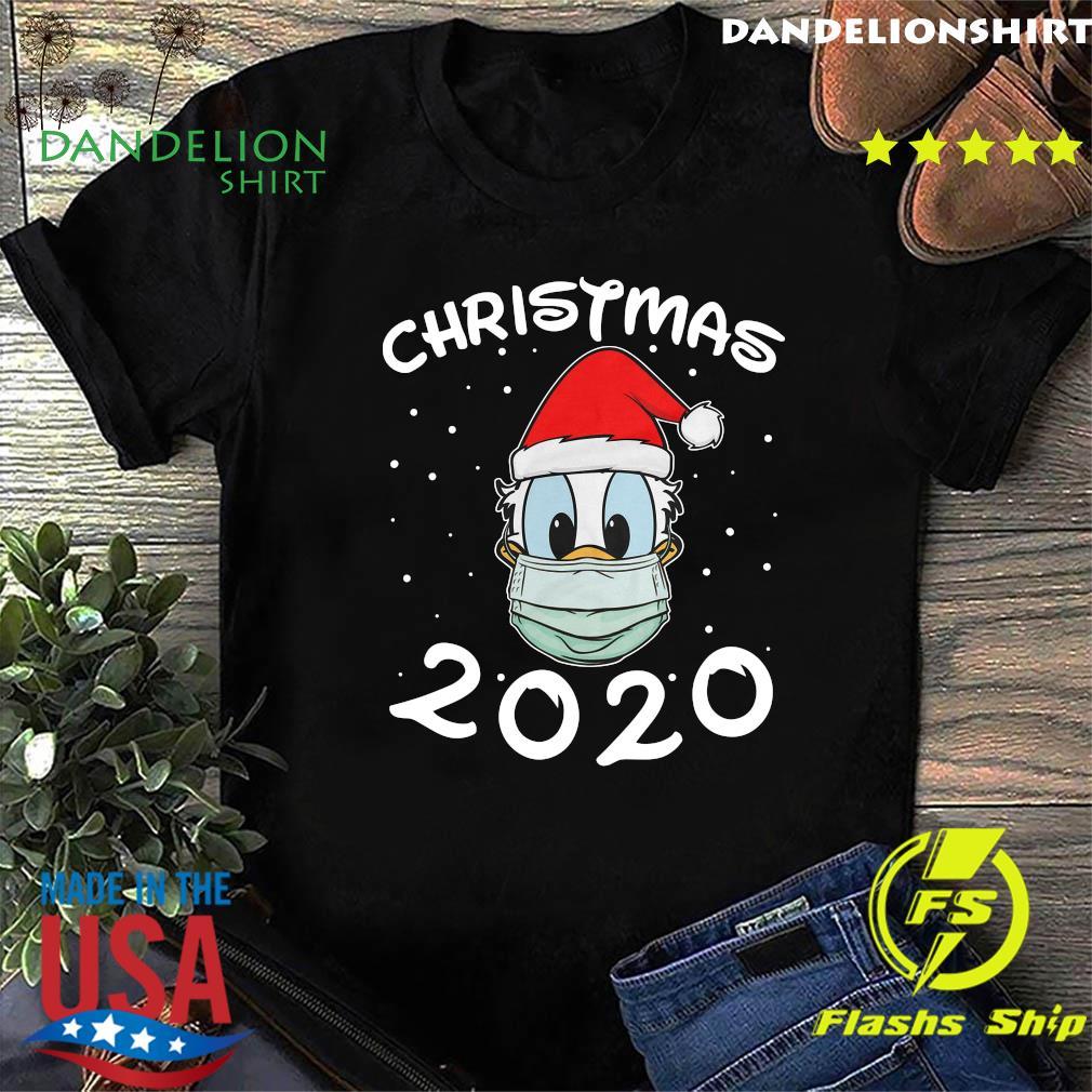 Face Donald Santa Wear Mask Merry Christmas 2020 Christmas Sweats Shirt
