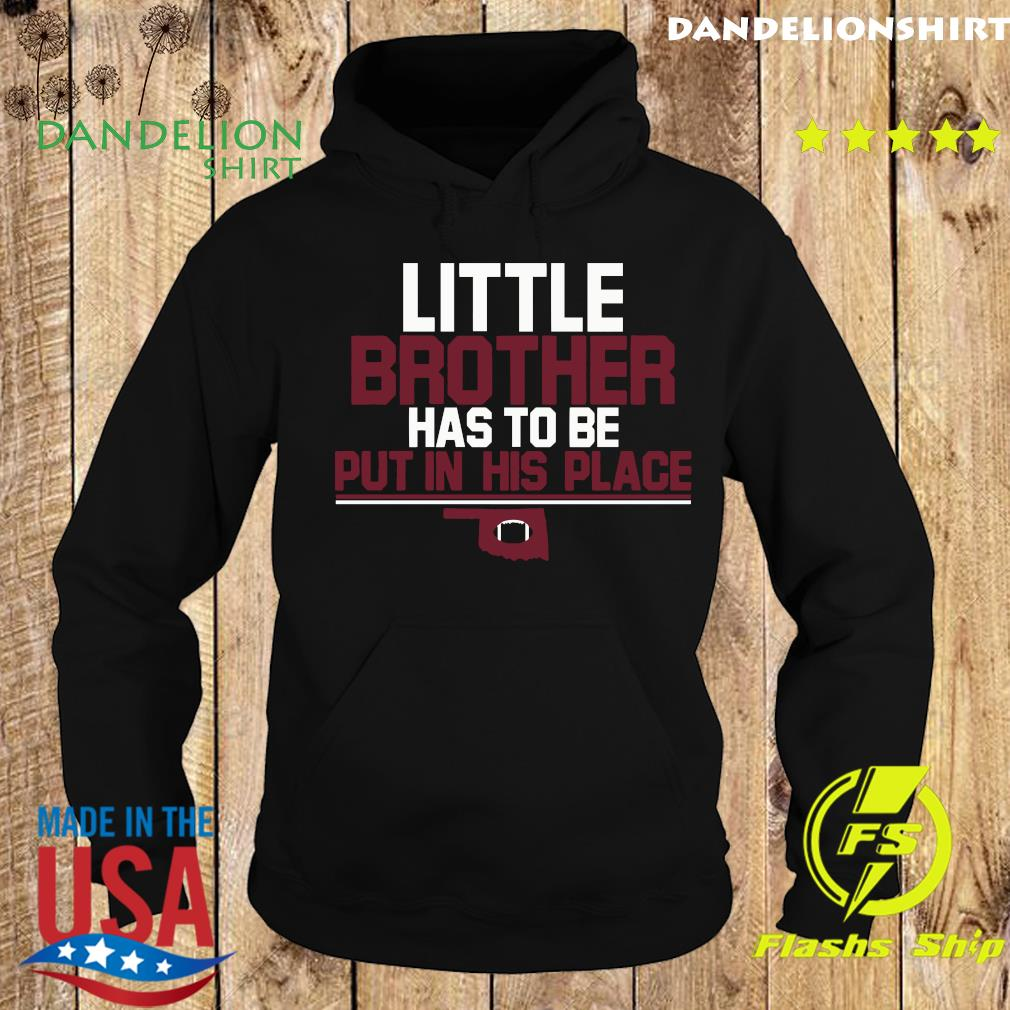 Little Brother Official T-Shirt, Norman, OK – College Football Hoodie