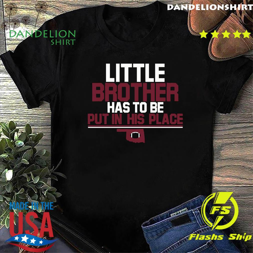 Little Brother Official T-Shirt, Norman, OK – College Football