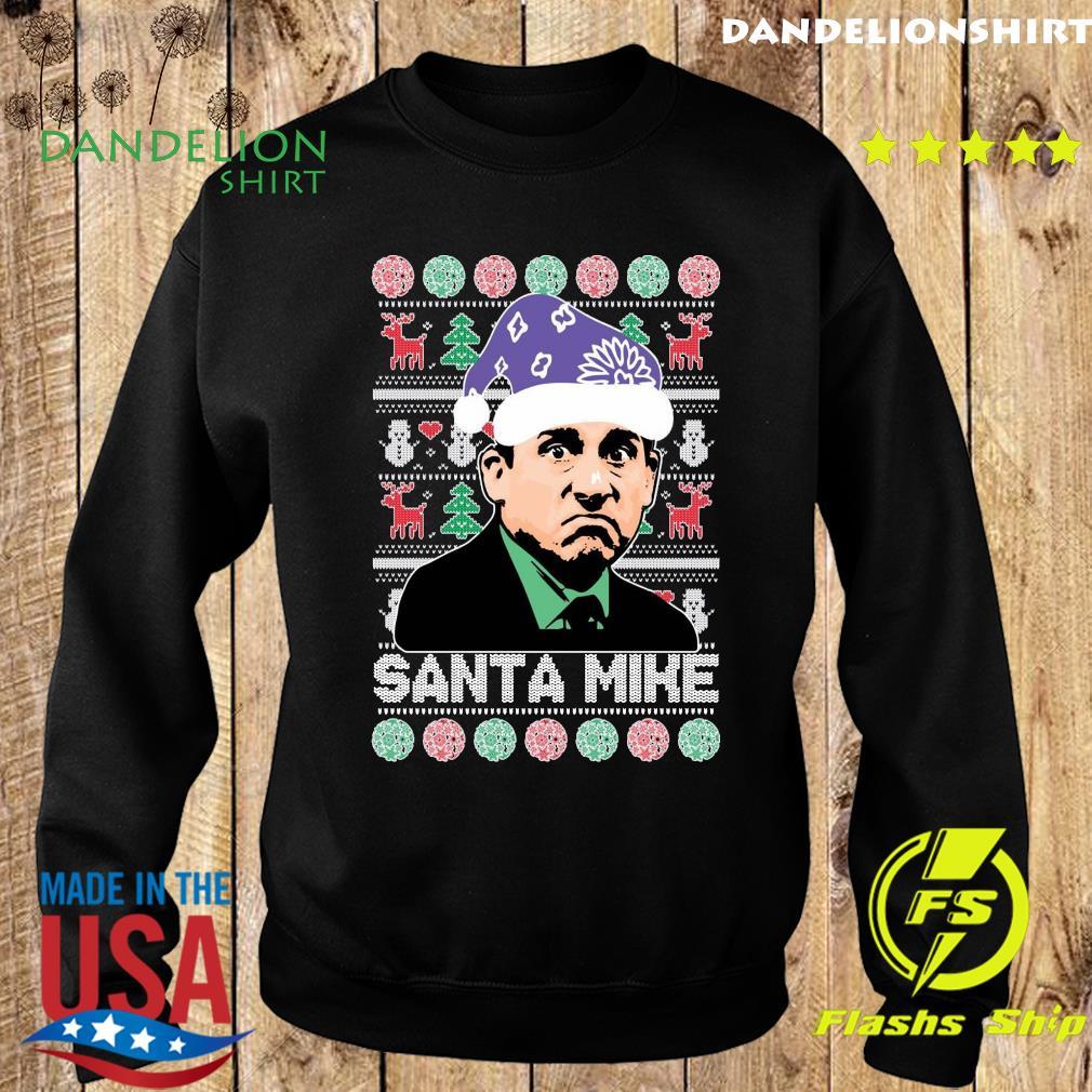 Michael Scott Santa Mike Ugly Merry Christmas Sweatshirt