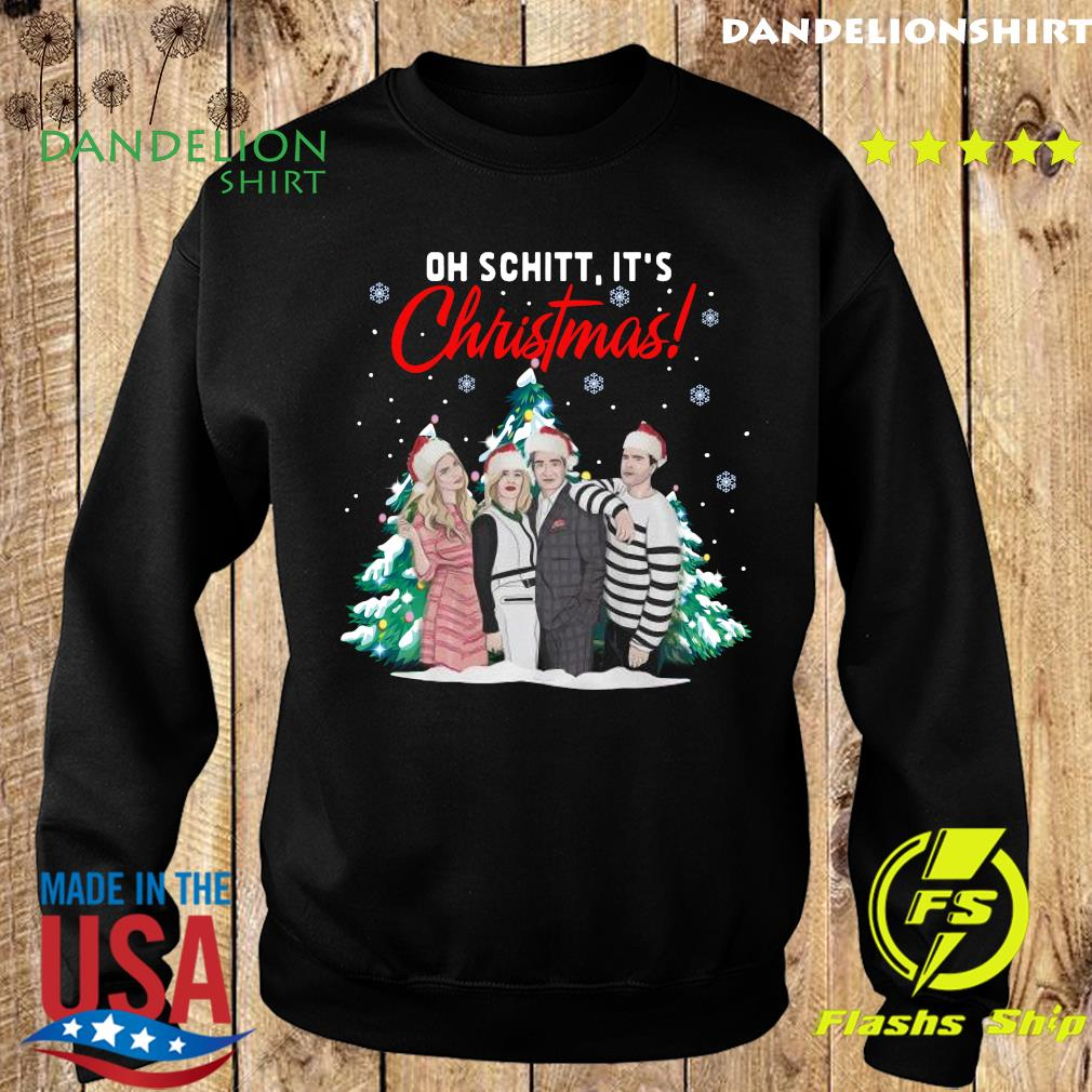 Oh Schitt It's Christmas Creek Tree Sweatshirt