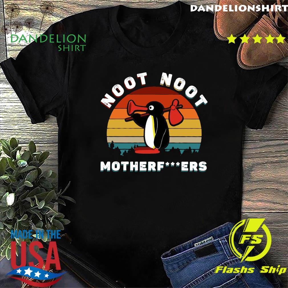 Penguin Noot Noot Motherfuckers Vintage Retro Shirt