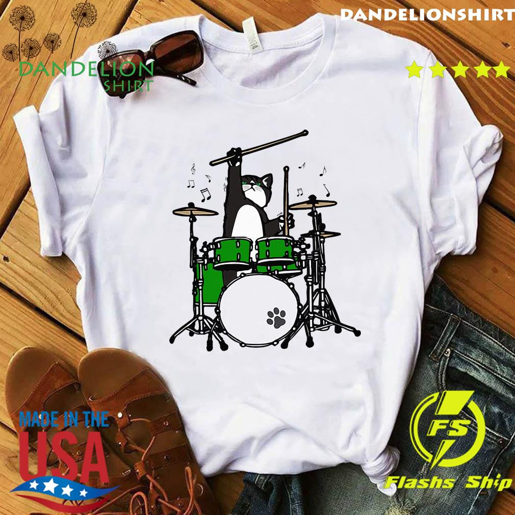 Cat Meow Band And Drum Shirt
