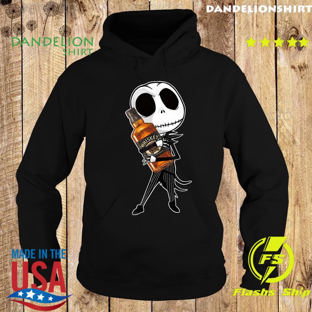 Jack Skellington Hug Whiskey Shirt Hoodie