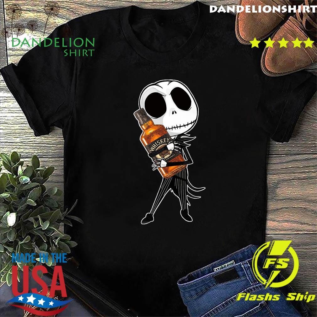Jack Skellington Hug Whiskey Shirt