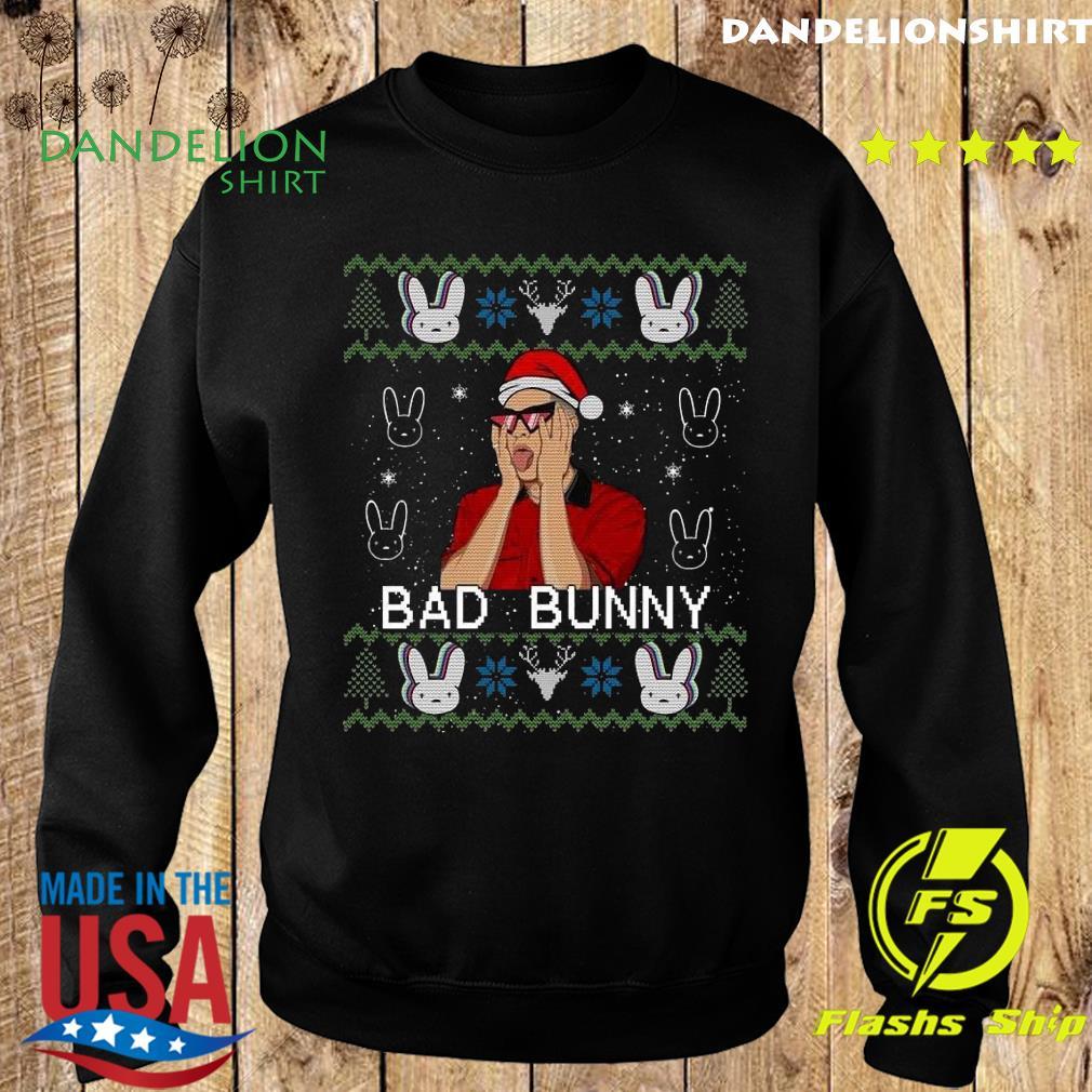 Official Bad Bunny Ugly Merry Christmas Sweatshirt