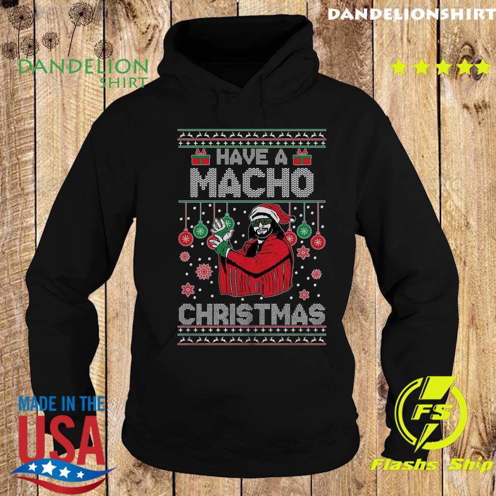 Randy Savage Have A Macho Christmas Ugly Sweats Hoodie