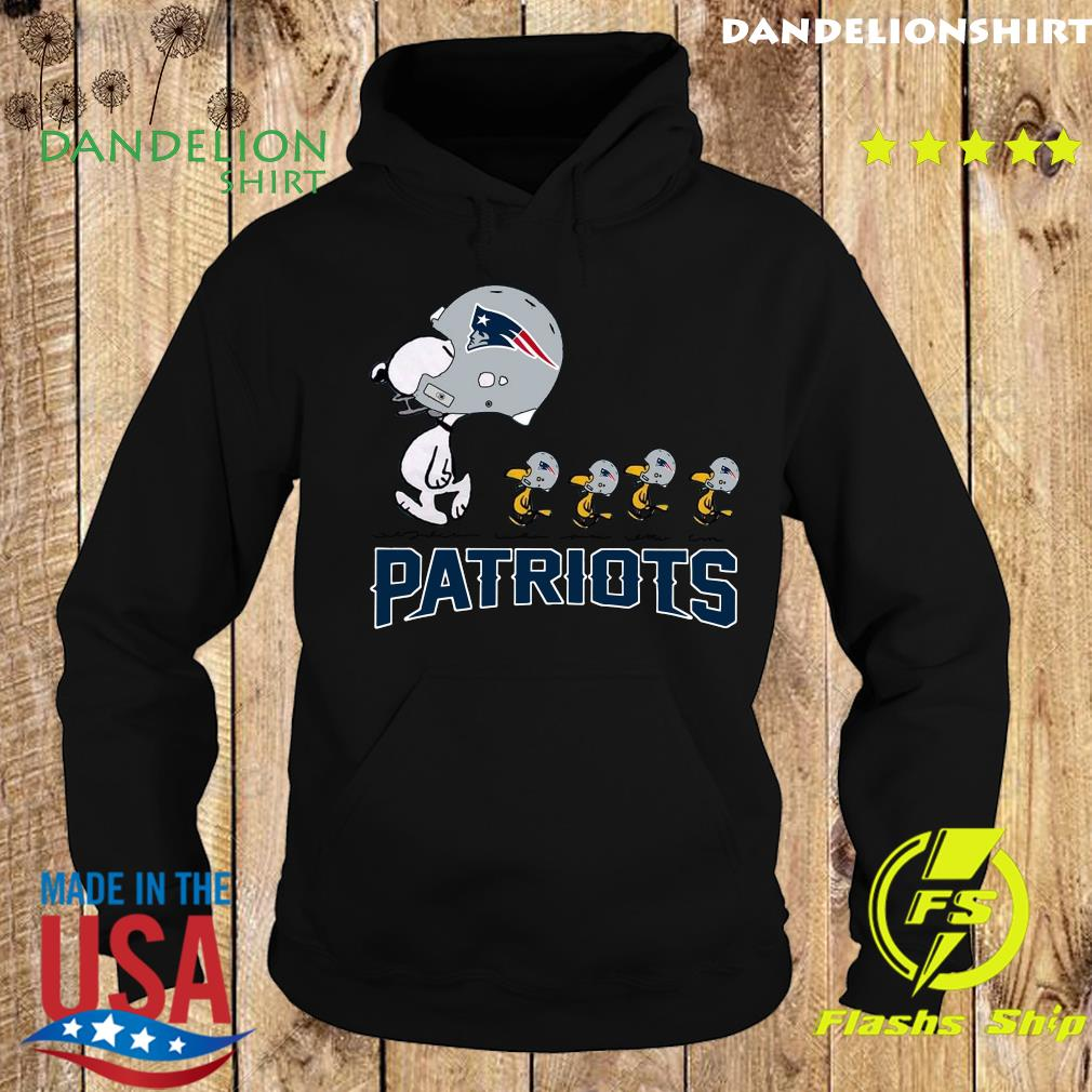 Snoopy And Woodstock New England Patriots Shirt Hoodie