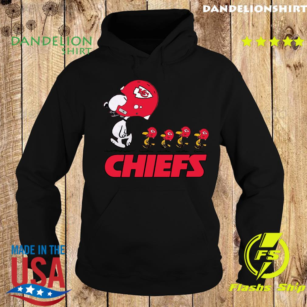 Snoopy And Woodstock The Kansas City Chiefs Shirt Hoodie