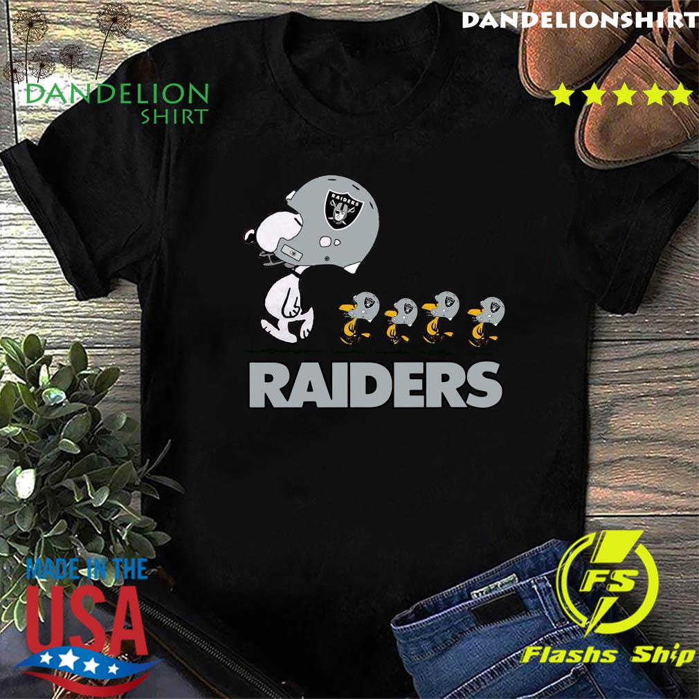 Snoopy And Woodstock The Oakland Raiders Shirt