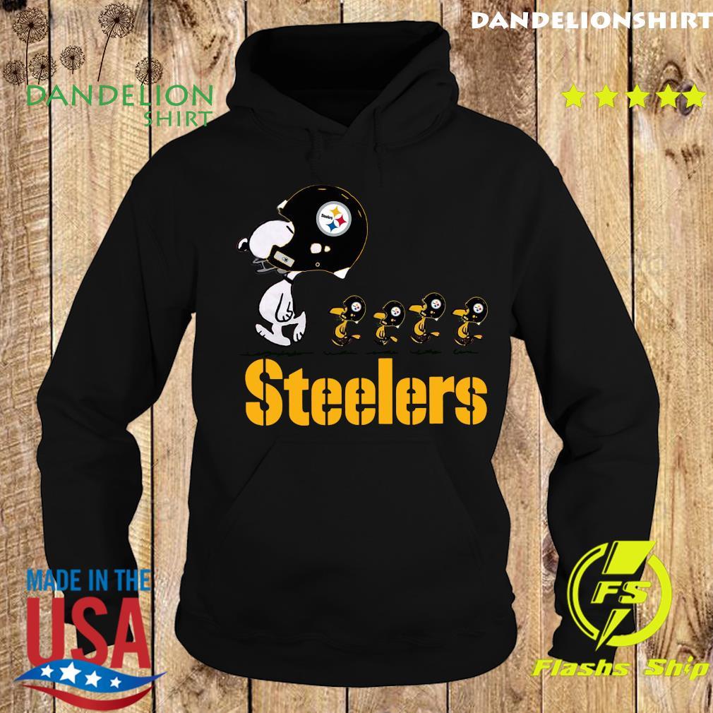 Snoopy And Woodstock The Pittsburgh Steelers Shirt Hoodie