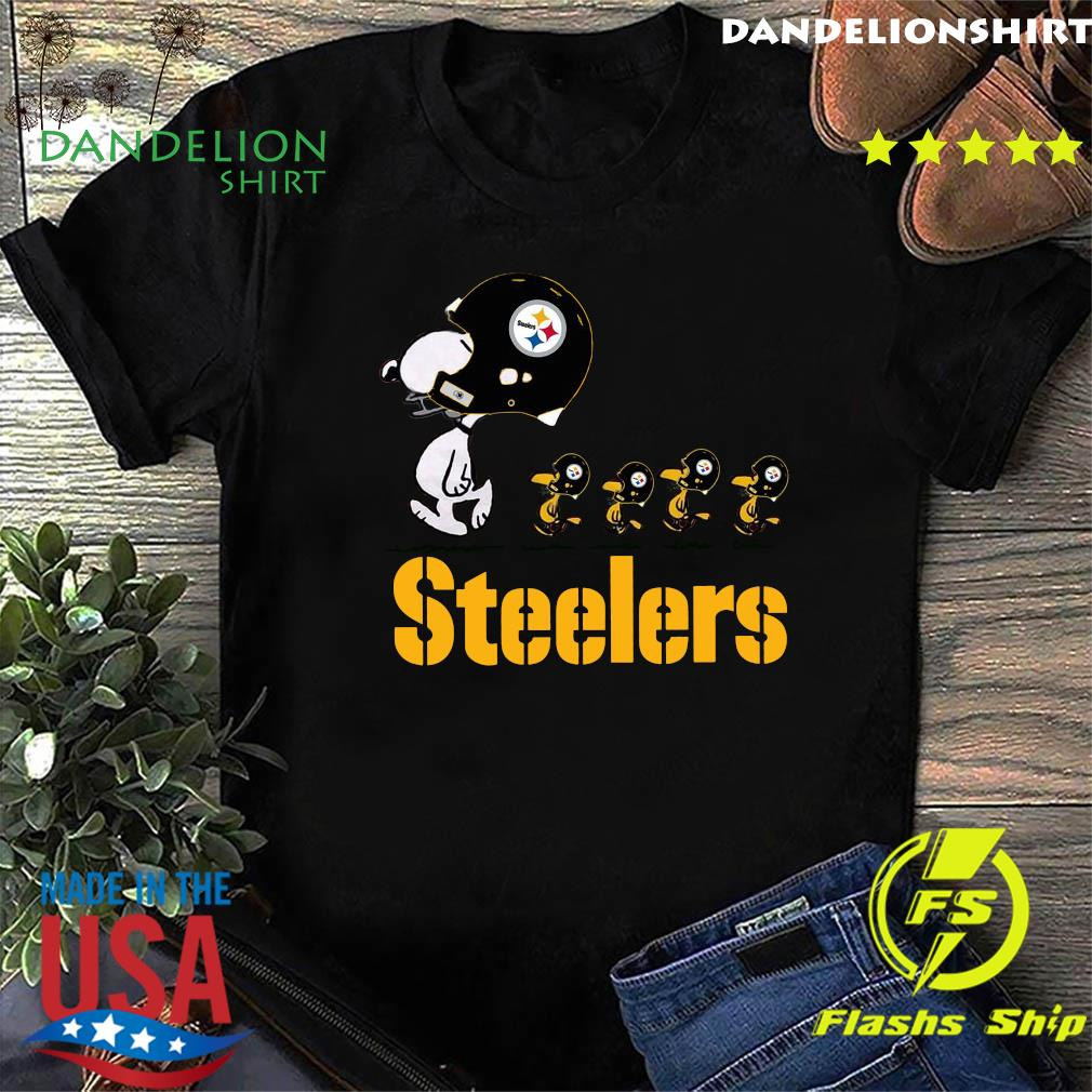 Snoopy And Woodstock The Pittsburgh Steelers Shirt